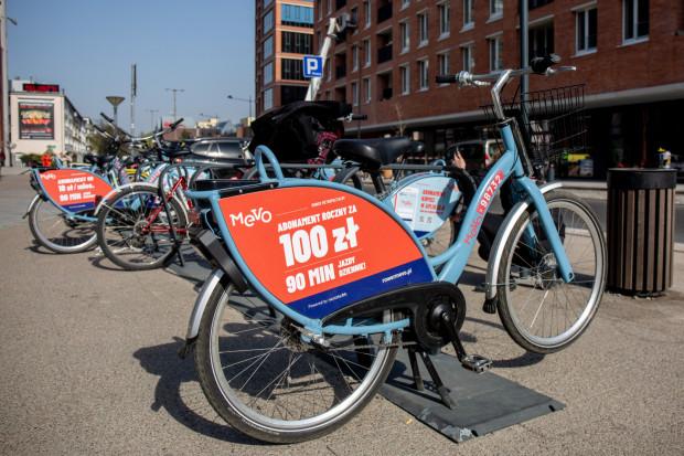 Od 30 maja do 14 sierpnia nie będzie można rezerwować roweru Mevo.