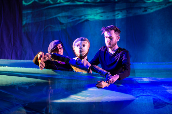 """""""Pinokio"""" w Teatrze Miniatura to spektakl zrealizowany z rozmachem i wysmakowany plastycznie"""