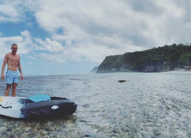 Daniel Łukasik wybrał się na indonezyjską wyspę  Bali.