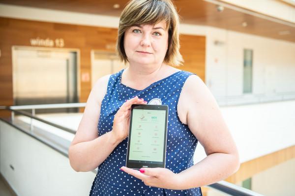 Monika Puchowska, koordynator aplikacji CChP