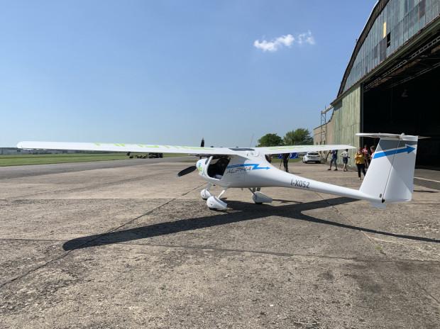 Pipistrel Alpha Electro - pierwszy seryjnie produkowany samolot elektryczny.