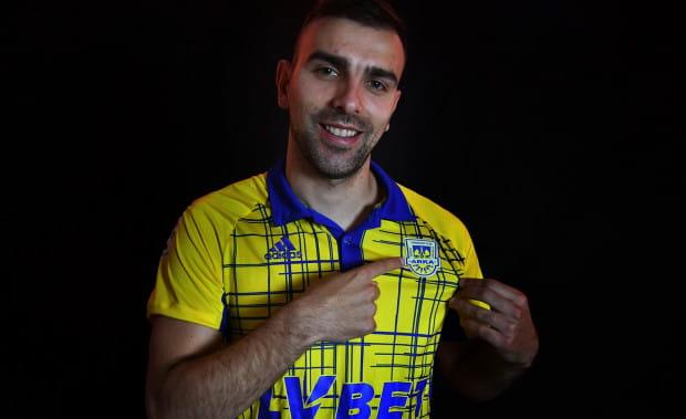 Nowy piłkarz Arki Gdynia ma za sobą występy w lidze greckiej, rumuńskiej i duńskiej.