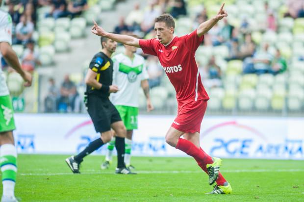 Mario Maloca w debiucie w Lechii Gdańsk strzelił gola w towarzyskim meczu Wolfsburgowi. Jakiego rywala przyniesie los w Lidze Europy 19 czerwca o godzinie 13?