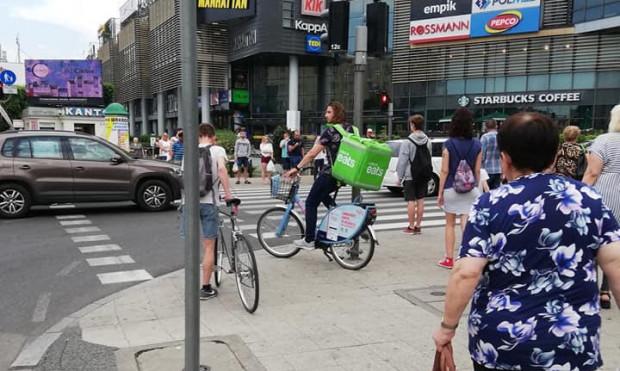 Jeżeli użytkownik korzysta z roweru zgodnie z regulaminem operator nie nałoży na niego kary nawet jeśli wykorzystuje rower do celów komercyjnych.