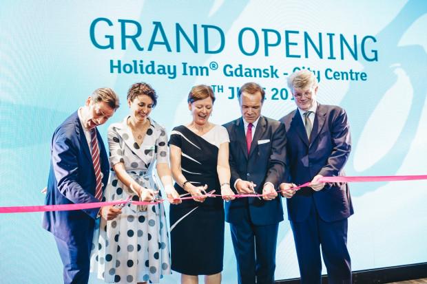 Hotel Holiday Inn Gdańsk City Centre oficjalnie został otwarty 26 czerwca.