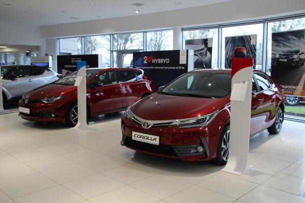 W salonie Toyota Carter Gdańsk - jak zwykle - dzieje się.