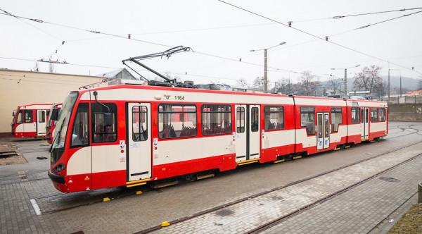 Dotychczas Gdańsk z Niemiec sprowadził łącznie 62 tramwaje typu N8C.