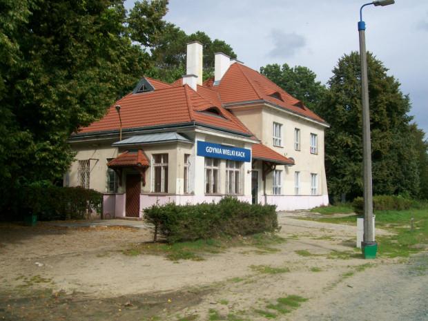 Stacja kolejowa Gdynia Wielki Kack.