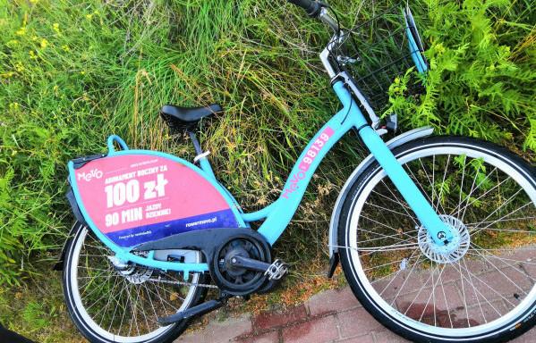Rower Mevo wrzucony do zbiornika Augustowska przez chuliganów, a następnie wydobyty z niego. Sprawcy zostaną pociągnięci do odpowiedzialności, jeśli wystąpi o to właściciel roweru - firma Nextbike.