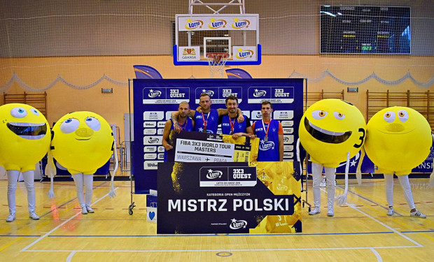StudioBudza/3x3Kołobrzeg  odbili mistrzostwo Polski z rąk Energi 3x3 Gdańsk, która triumfowała w czterech minionych latach.