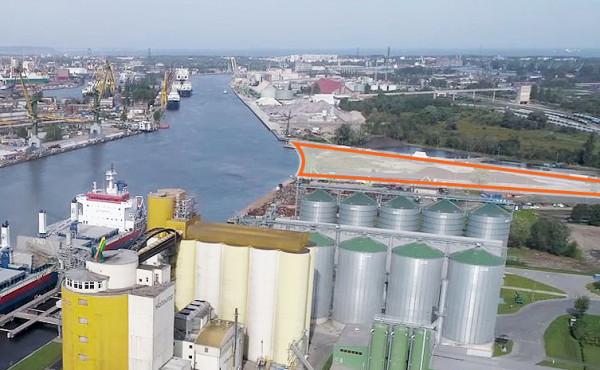 Anwil przygotowuje się do opracowania koncepcji budowy terminalu morskiego przy Nabrzeżu Bytomskim (po prawej stronie) w gdańskim porcie.