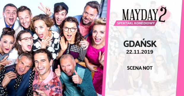 """Szalone perypetie taksówkarza w """"Mayday 2"""" zobaczymy na Scenie Teatralnej NOT 22 listopada."""