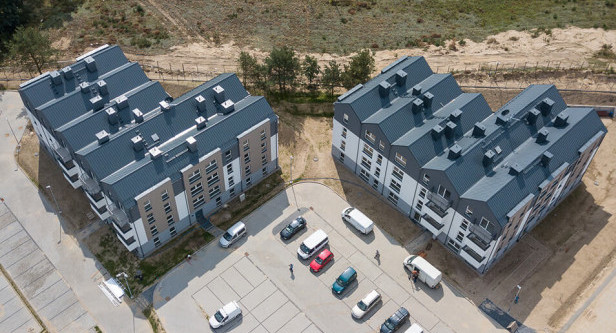 Mieszkanie Plus to jedna z inwestycji mieszkaniowych na Kaczych Bukach.