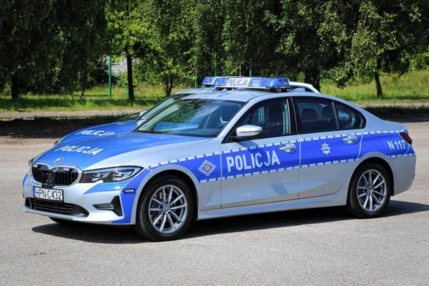 Tak wyglądają nowe oznakowane radiowozy marki BMW.