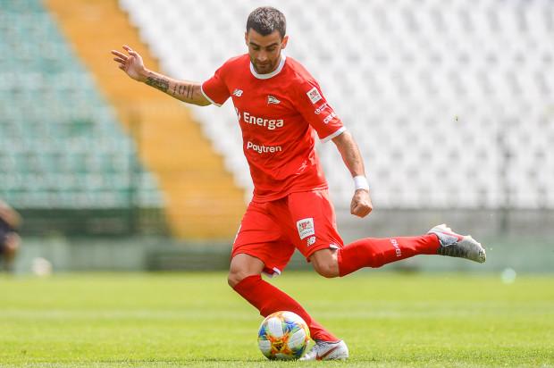 Żarko Udovicić przeprosił za czerwoną kartkę w meczu z ŁKS Łódź i liczy na łagodny wymiar kary.