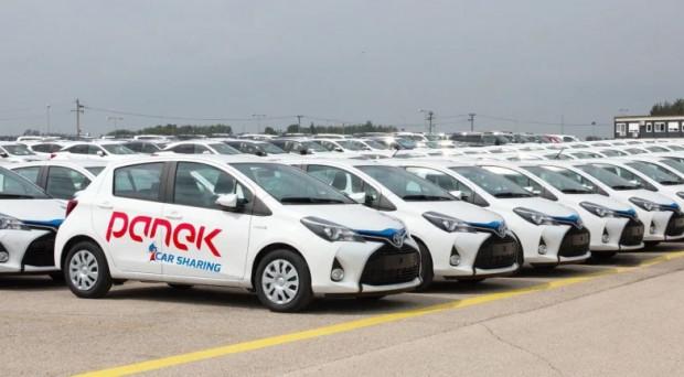 PanekCS to najnowszy gracz na trójmiejskim rynku współdzielonych aut.