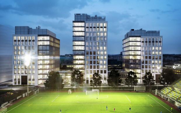3T Office Park naprzeciwko gdyńskiego stadionu to jedna z największych realizacji biurowych w Gdyni. Budowa się rozpoczęła.