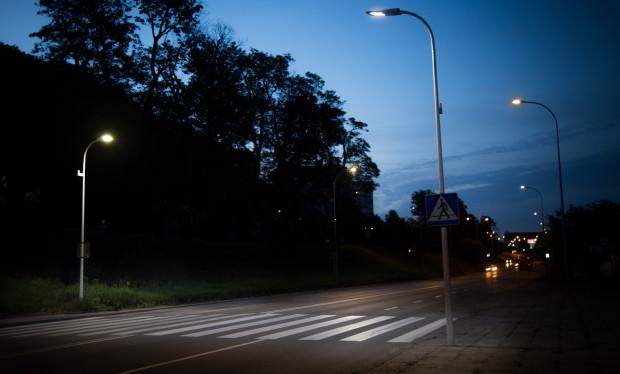 """Oświetlenie """"smart"""", przejście w Gdańsku, grafika poglądowa"""