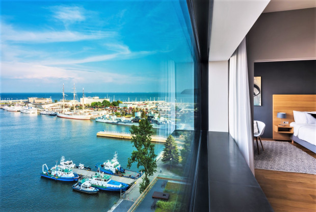 Imponujący widok z okien może być największym atutem luksusowego hotelu.