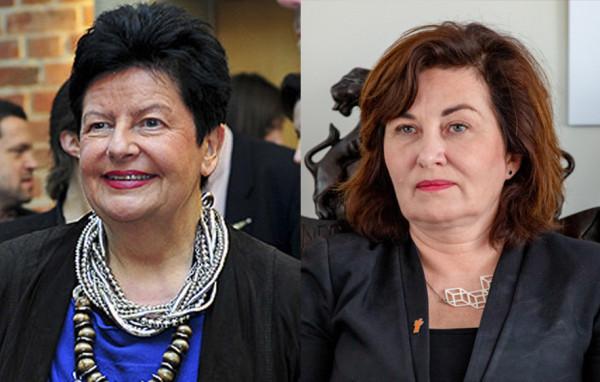 Joanna Senyszyn (z lewej) będzie jedynką Lewicy w Gdynia, a Beata Maciejewska będzie otwierała listę Lewicy w Gdańsku.