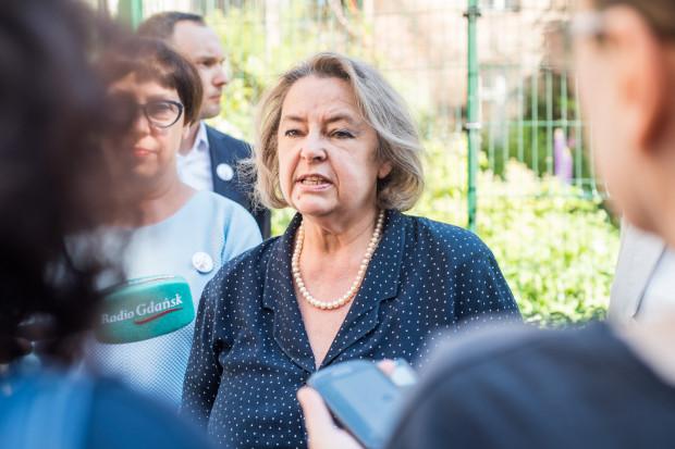 Jolanta Banach, była wiceminister w rządzie SLD, ma być druga na liście Lewicy w Gdańsku.
