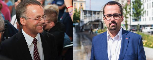 Liderzy list PiS: Jarosław Sellin w Gdańsku i Marcin Horała w Gdyni