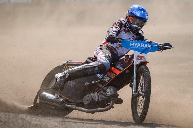 Jacob Thorssell dopiero w piątym dla siebie biegu zdobył pierwsze punkty w Grand Prix Skandynawii.