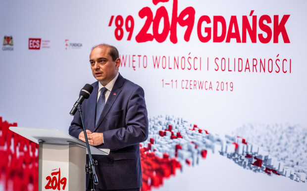 """Basil Kerski, dyr. ECS odnosząc się do powołania IDS, podkreśla, że """"na działania wspierające organizacje antydemokratyczne oraz wpisujące politykę ksenofobicznych faszystów do tradycji polskiej opozycji demokratycznej nie ma mojej zgody""""."""