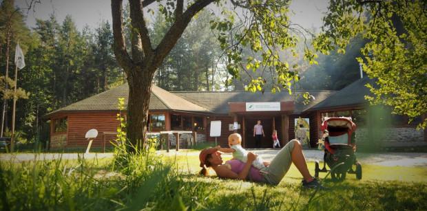 Ogród botaniczny w Marszewie cieszy się dużym zainteresowaniem rodzin z dziećmi.