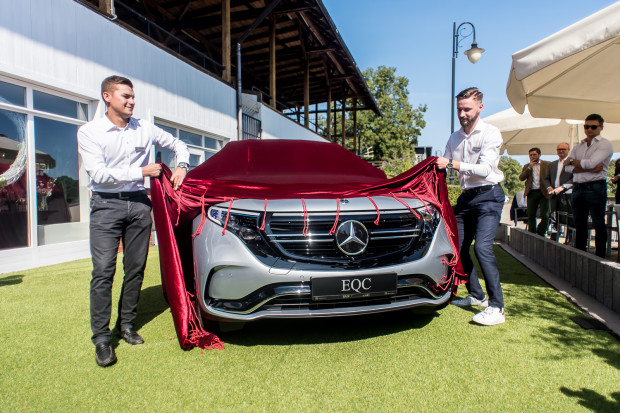 Mercedes-Benz EQC to pierwszy model z elektrycznej gamy EQ.