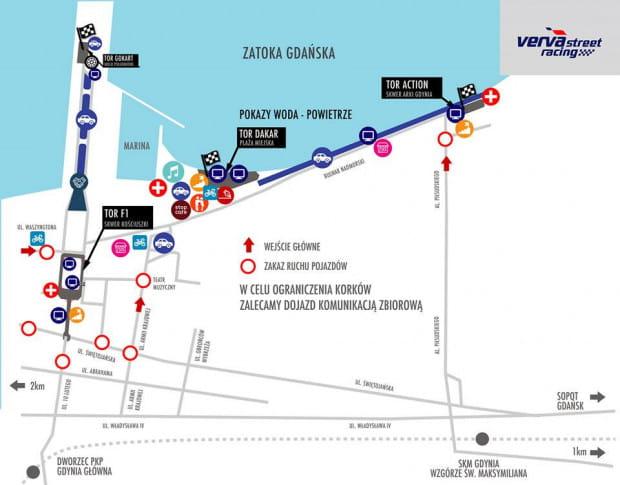 Mapa Verva Street Racing.