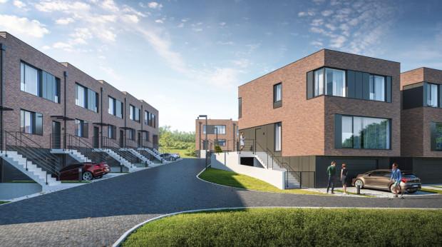 Kameralne osiedle domów Olchowa Dolina to enklawa spokoju w pobliżu centrum Gdańska.