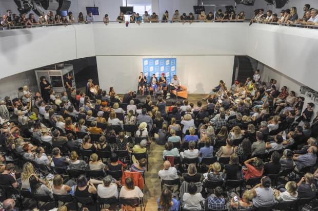 Spotkanie z Zadie Smith w PGS podczas Literackiego Sopotu w 2018 roku przyciągnęło prawdziwe tłumy.