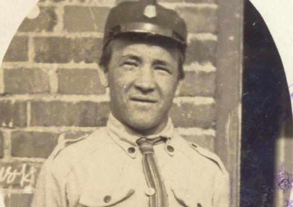 Harcmistrz Jan Ożdżyński w latach 20. Zdjęcie pochodzi z archiwum Uniwersytetu Warszawskiego.