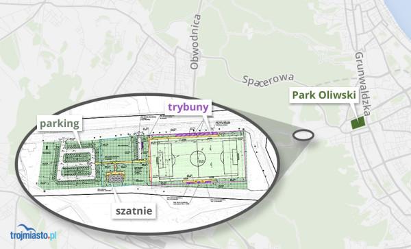 Z planów na budowę boiska z trybunami, szatniami i parkingiem na razie nic nie wyszło. Na ich realizację miasto potrzebuje 4 mln zł.