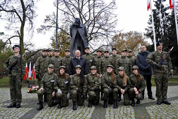 Ślubowanie kadetów - uczniów Liceum Ogólnokształcącego Mundurowego Spartakus w Gdańsku