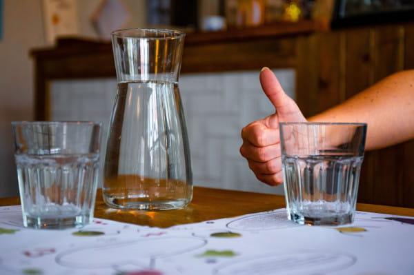 - Napojenie spragnionego to podstawowa forma okazania gościnności w  naszym lokalu - uważa właścicielka restauracji Nie/mięsny na Dolnym Mieście.