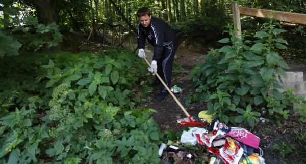 """Akcja """"Wyczesany las - weź to podnieś"""" odbędzie się w najbliższą sobotę."""