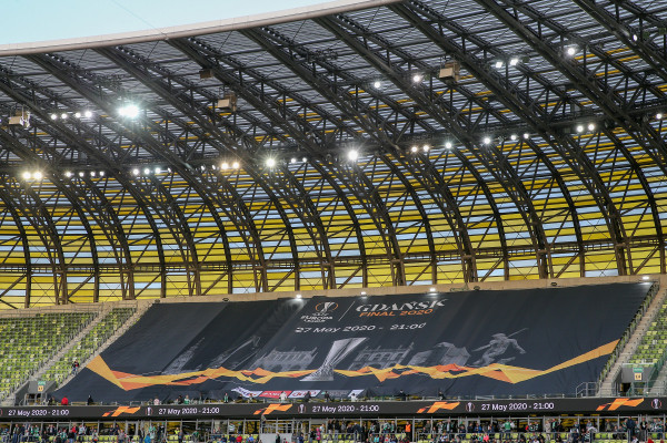 Gdańsk zapłacił Lechii za promocję finału Ligi Europy 2020 roku. Pierwsze reklamy tego wydarzenia pokazały się na ostatnim meczu biało-zielonych.