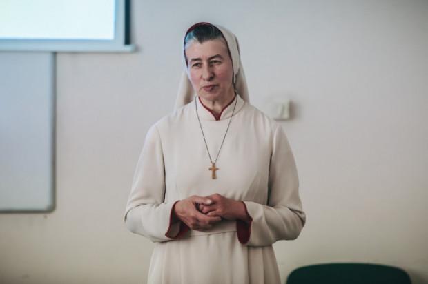 Siostra Mariola Tyra, prezes Fundacji Szpitalnej Pro vita hominis plena