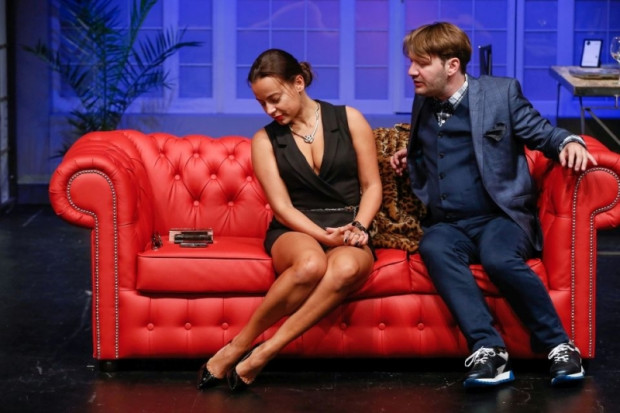 """Spektakl """"Pikantni"""" z udziałem Anny Muchy (na zdjęciu) zobaczyć można na deskach Sceny Teatralnej NOT 5 października."""