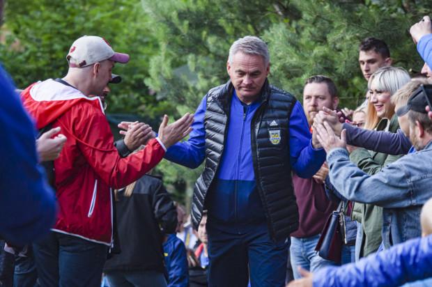 Jacek Zieliński po zwycięstwie nad ŁKS Łódź umocnił się na stanowisku trenera Arki Gdynia.