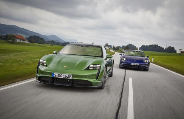 Taycan - pierwszy w pełni elektryczny samochód Porsche.