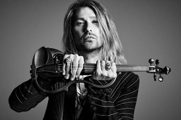 Rockowy skrzypek David Garret wystąpi w Ergo Arenie.