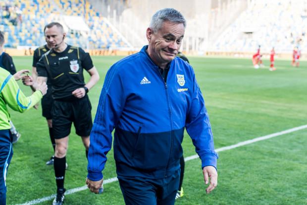 Jacek Zieliński przyznaje, że Arka Gdynia zawiodła w Opolu, ale zapewnia, iż na mecz z Piastem Gliwice w najbliższą niedzielę drużyna będzie gotowa.