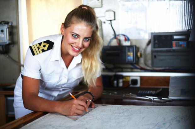 Martyna Graban pracę jako starszy oficer na statku eksploracyjnym EV Nautilus zaczęła trzy lata temu. Jest jedyną Polką w międzynarodowej ekipie.