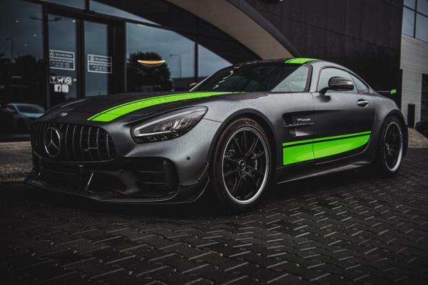Mercedes-AMG GT R Pro premierowo w Trójmieście