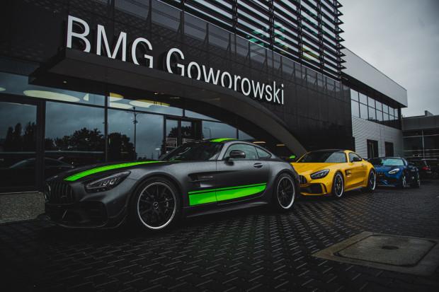 Niecodzienna dostawa aut w salonie BMG Goworowski