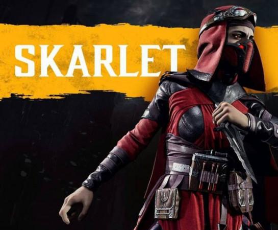 """Skarlet z popularnej serii gier """"Mortal Kombat"""" to Krwawa Królowa, charakterna i niepokorna bohaterka. W jedenastej części głosu udzieliła jej aktorka urodzona w Gdańsku, Beata Poźniak."""