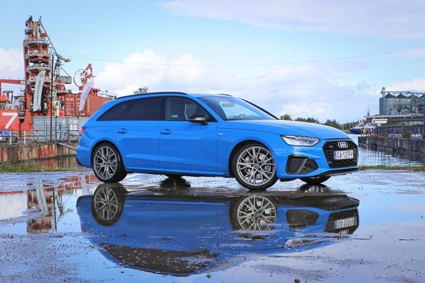 Jak odróżnić Audi A4 po faceliftingu od swojego poprzednika? Wystarczy spojrzeć na charakterystyczne lampy.